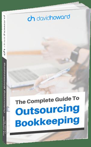 David Howard Outsourcing Bookkeeping Guide Mock Up